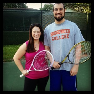 Katie and Patrick - Tennis