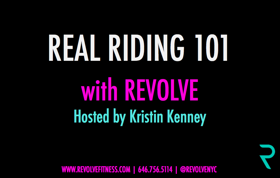 Real Riding 101 Workshop